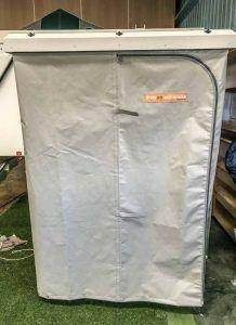 Trayon Camping Outhouse Double Set Up