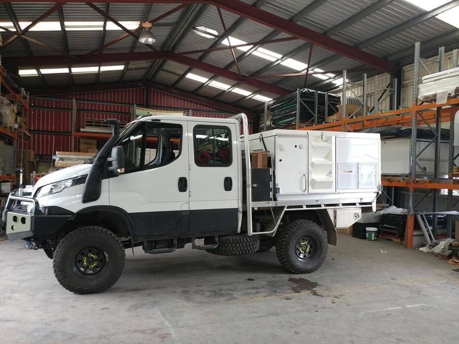 Dual Cab Iveco Daily 4x4 - Expedition Vehicle