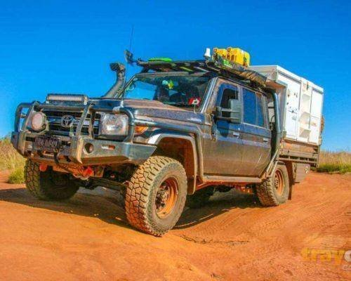 How to choose a slide on camper - Toyota Landcruiser LC70 in action