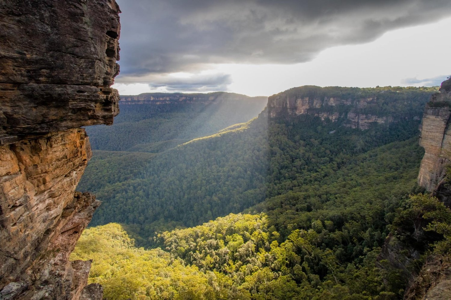 blue mountains scenery